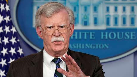 John Bolton, asesor de Seguridad Nacional del presidente de EE.UU.