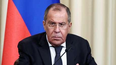 El ministro de Exteriores de Rusia, Serguéi Lavrov.