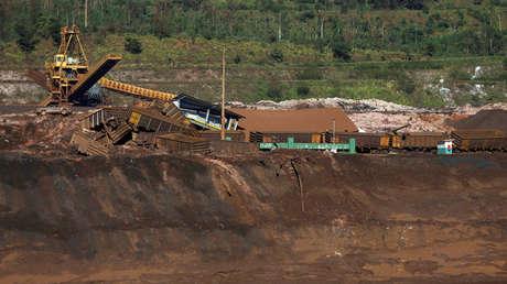 Vista de los daños causado en Brumadinho, Brasil. 19 de enero de 2019.
