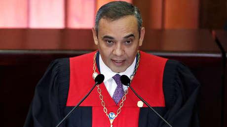 El presidente del Tribunal Supremo de Justicia (TSJ), Maikel Moreno. 24 de enero de 2019.