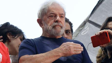 El expresidente Lula da Silva en Sao Paolo, el 7 de abril de 2018.