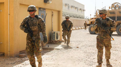 Soldados estadounidenses en la base de Kandahar, Afganistán, 16 de agosto de 2018.