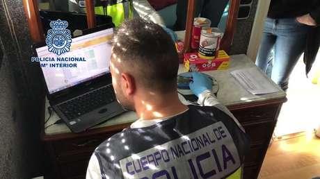 Imagen proporcionada por la Policía Nacional española.