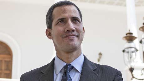 Juan Guaidó en Caracas para asistir a una sesión el 29 de enero de 2019.