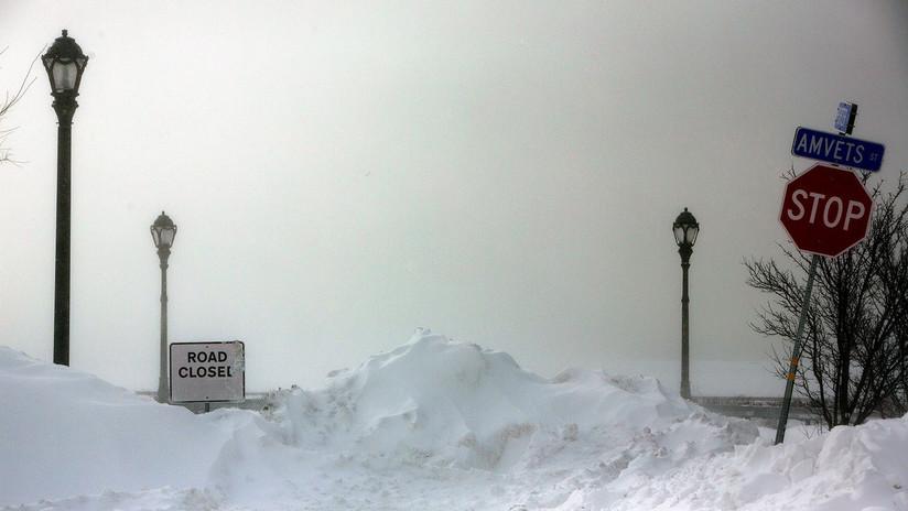 FOTOS, VIDEOS: Las más disparatadas consecuencias del vórtice polar en EE.UU.