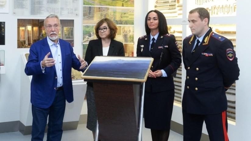 Vuelve a la moscovita Galería Tretiakov el millonario cuadro de Kuindzhi, robado a plena luz del día