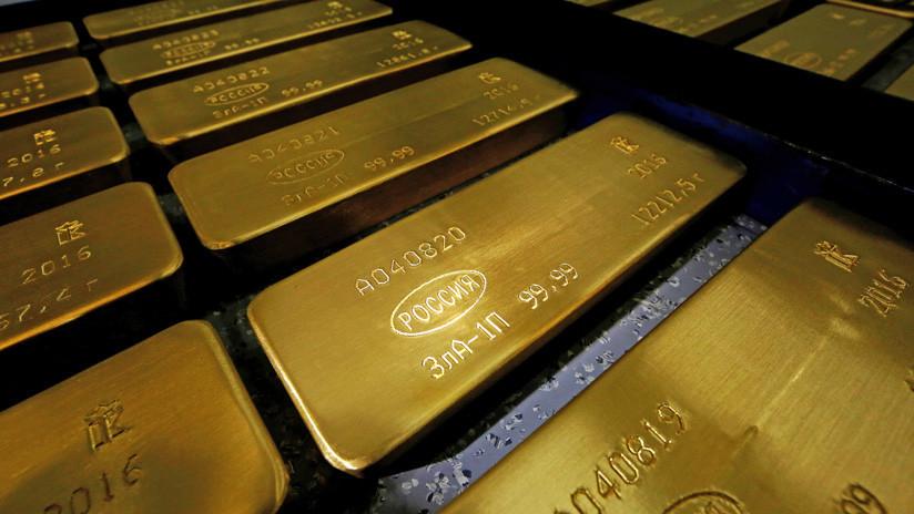 Rusia lideró las compras de oro globales en 2018
