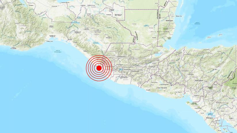 Un sismo de magnitud 6,6 se registra en México y Guatemala