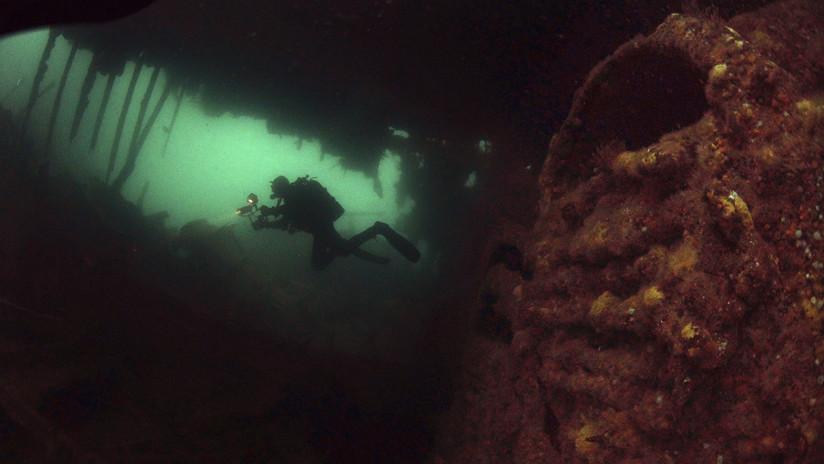 VIDEO: Hallan un submarino de la 'flota perdida' de Hitler que estuvo desaparecido en el mar Negro durante 70 años