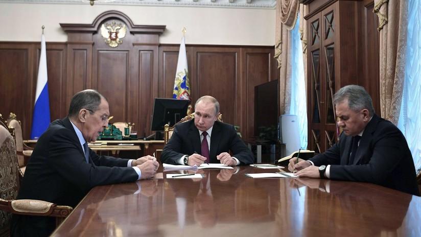 Putin: Rusia suspende su participación en el tratado INF como respuesta a la retirada de EE.UU.