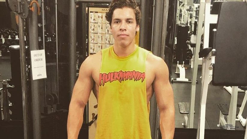 FOTO: Un hijo de Arnold Schwarzenegger publica una nueva imagen de una de las posturas emblemáticas de su padre