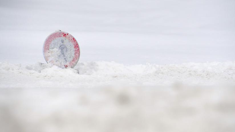 El 'misterio del ombligo' de un oso dibujado en la nieve deja perpleja a la Red