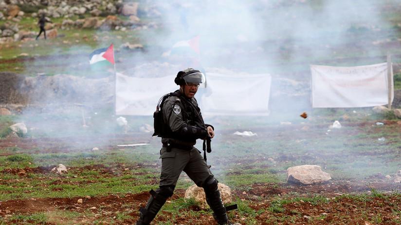 VIDEO: Un francotirador hiere a un soldado israelí que estaba disparando en dirección a Gaza