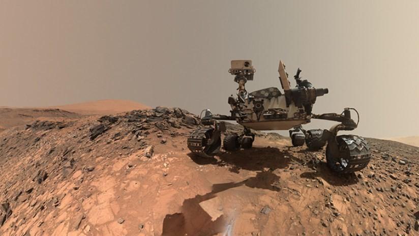 El Curiosity ayuda a resolver un misterio de una montaña de Marte con el uso de la gravedad
