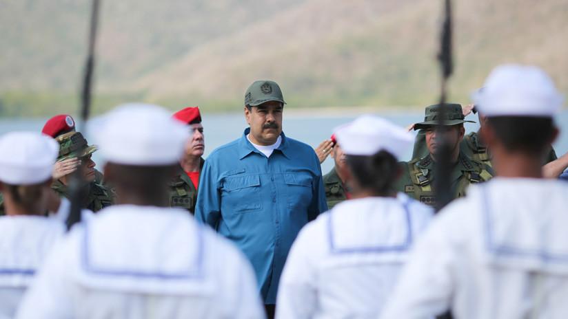 """Maduro anuncia una recogida de firmas para entregar a la Casa Blanca """"en rechazo a la intervención"""""""