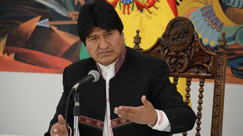 """Evo Morales: """"Trump admite ser principal instigador del golpe contra Venezuela"""""""