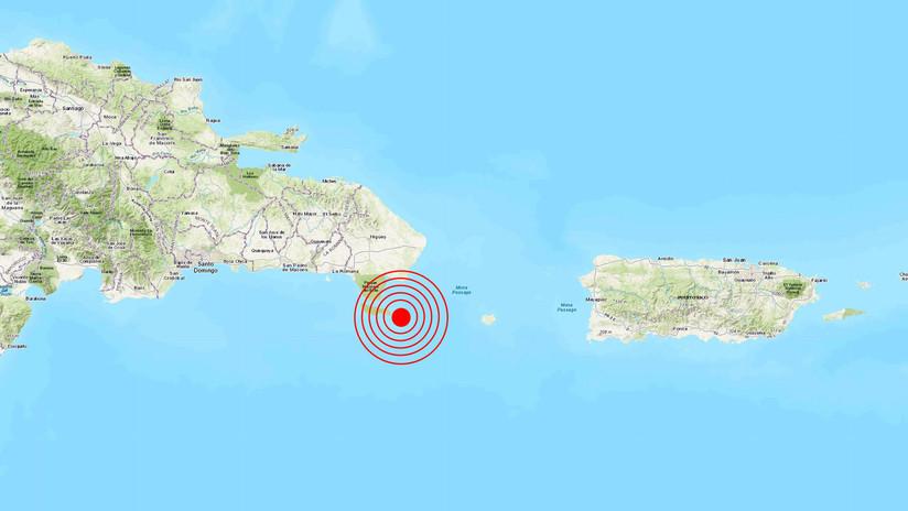 Un terremoto de magnitud 5,3 se registra en la República Dominicana