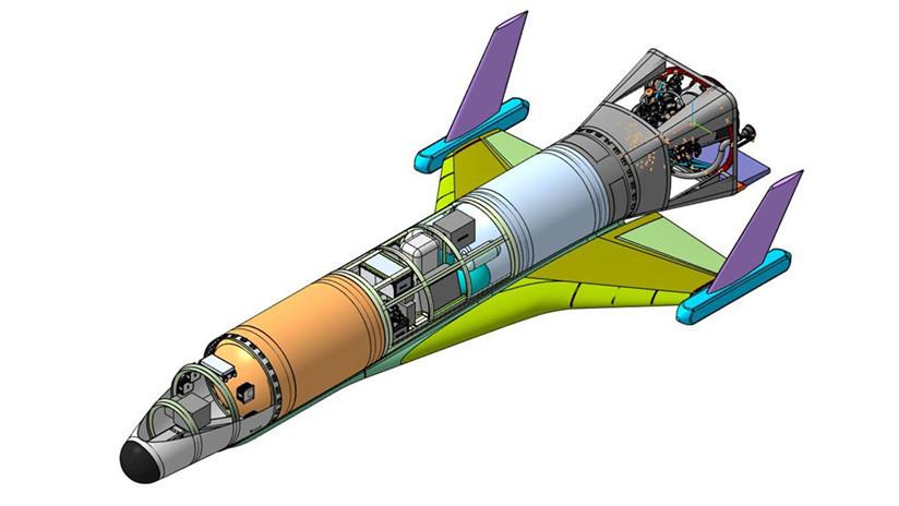 IMAGEN: Rusia inicia el desarrollo de su primer avión espacial no tripulado