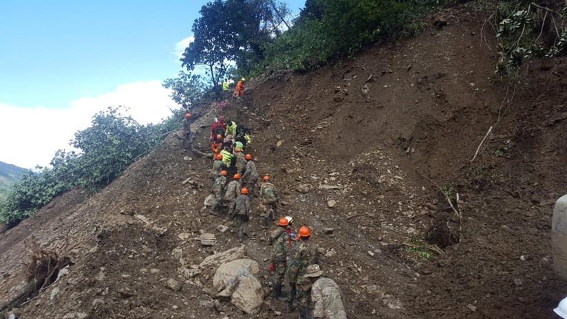 Al menos 13 muertos y una veintena de heridos tras dos aludes en Bolivia