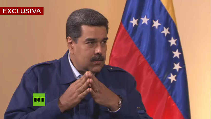 """Maduro en exclusiva a RT: """"No voy a pasar a la historia como un hombre que le dio la espalda a su pueblo"""""""