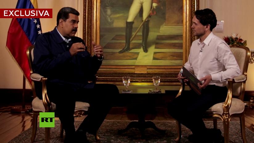 Maduro explica cuál es el 'casus belli' de Trump contra Venezuela