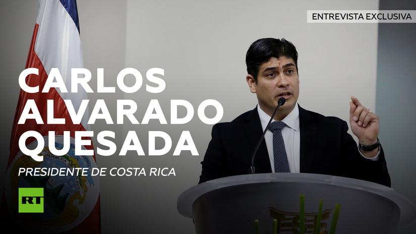 """Presidente de Costa Rica: """"El costo de no hacer un ajuste fiscal es mucho mayor que el de hacerlo"""""""