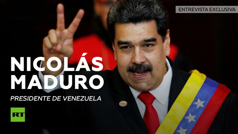 Nicolás Maduro concede una entrevista exclusiva a RT en medio del desafío del líder opositor Juan Guaidó