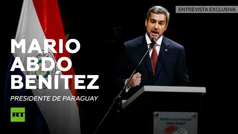 """Presidente electo Mario Abdo Benítez: """"Paraguay no se va a dejar presionar por nadie"""""""