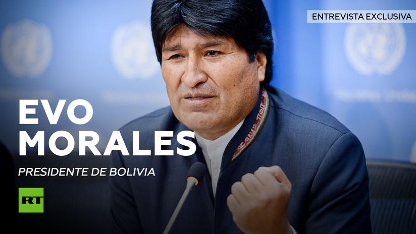 """Evo Morales a RT: """"Cuando EE.UU. no puede dar golpes de Estado, acaba conspirando"""" (VIDEO)"""