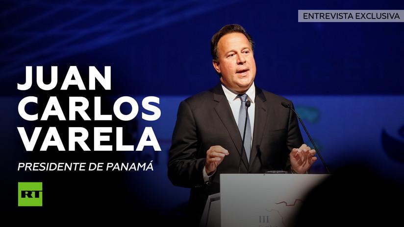 "Juan Carlos Varela a RT: ""Panamá está contento con su selección"""