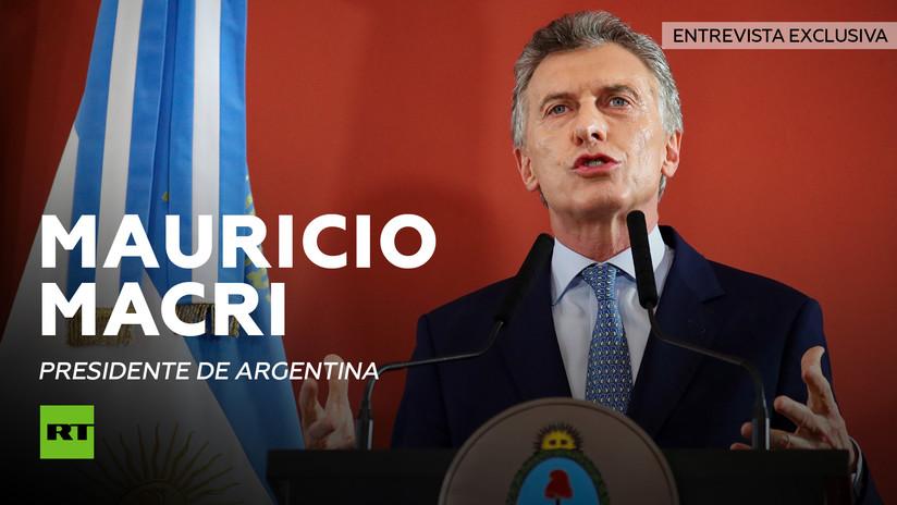 """Macri: """"Argentina ha emprendido un cambio muy profundo"""" (EXCLUSIVA)"""