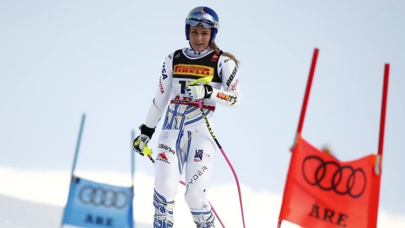 VIDEOS: La estrepitosa caída de una esquiadora estadounidense a 100 km/h