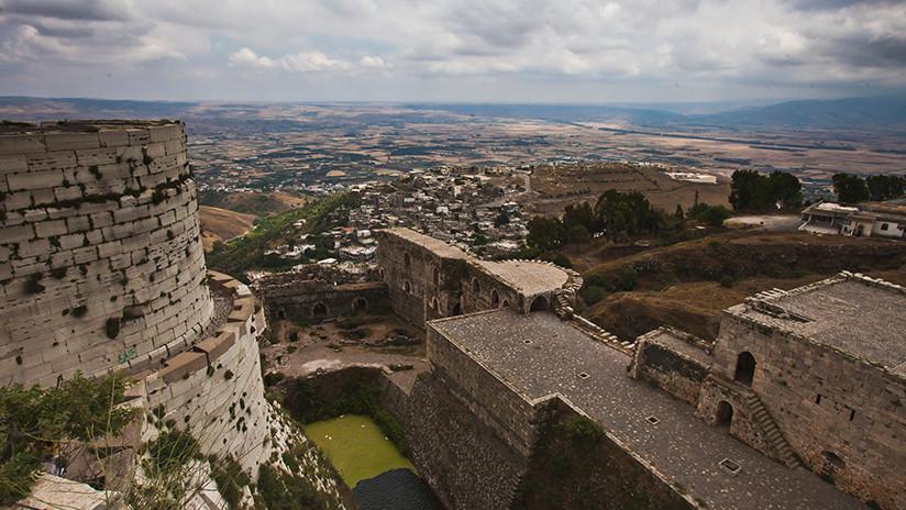 Descubren una habitación misteriosa en la antigua fortaleza siria Crac de los Caballeros