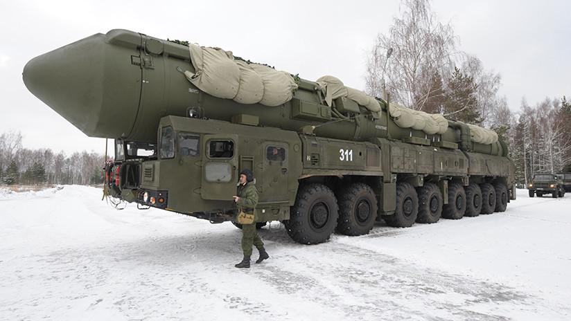Rusia lanza con éxito un misil intercontinental Yars