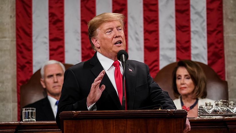 """¿El estado de la desunión? Un discurso de Trump """"repleto"""" de falsedades con un llamamiento difícil de cumplir"""