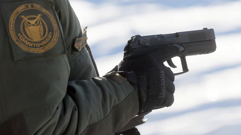 Video: Ponen a prueba las capacidades antiblindaje de la pistola rusa Udav