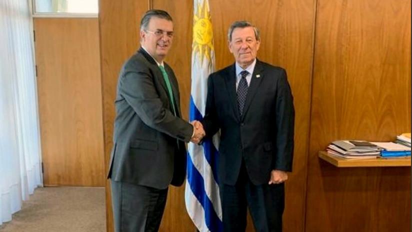 México y Uruguay se preparan para la conferencia internacional sobre la crisis política en Venezuela