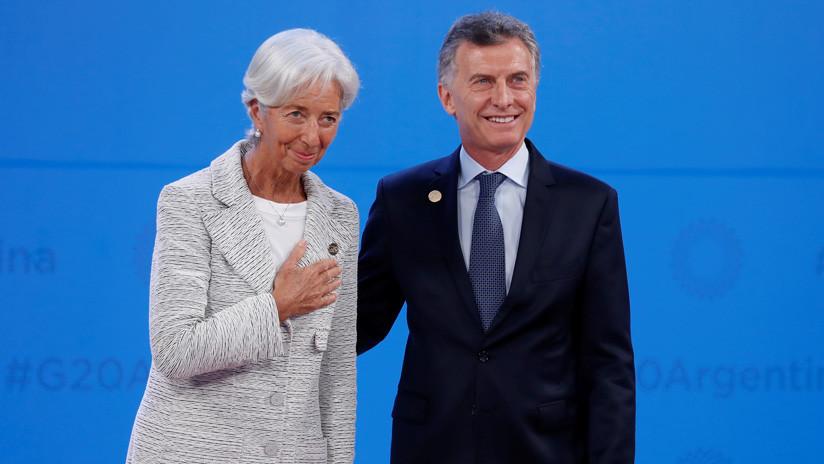 Una delegación del FMI llega a Argentina para evaluar el plan económico