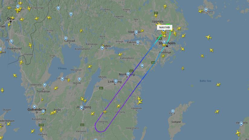 Amenaza de bomba obliga a un avión de pasajeros noruego a dar media vuelta en pleno vuelo