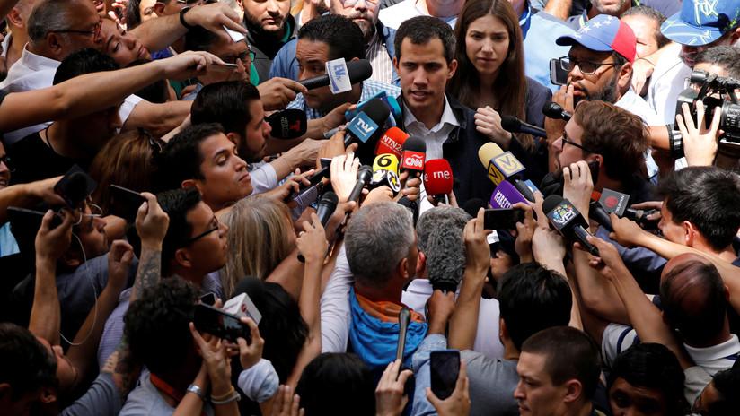 """""""Las democracias mundiales tienen derecho a buscar el cambio de régimen"""": La crisis de Venezuela y la estampida del periodismo"""