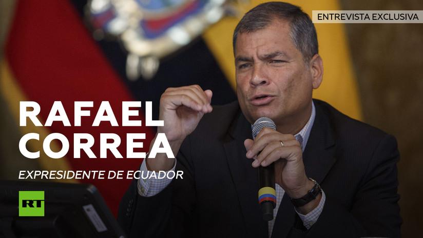 """Correa a RT: """"Si siguen destruyendo mi patria, volveré a la presidencia"""""""