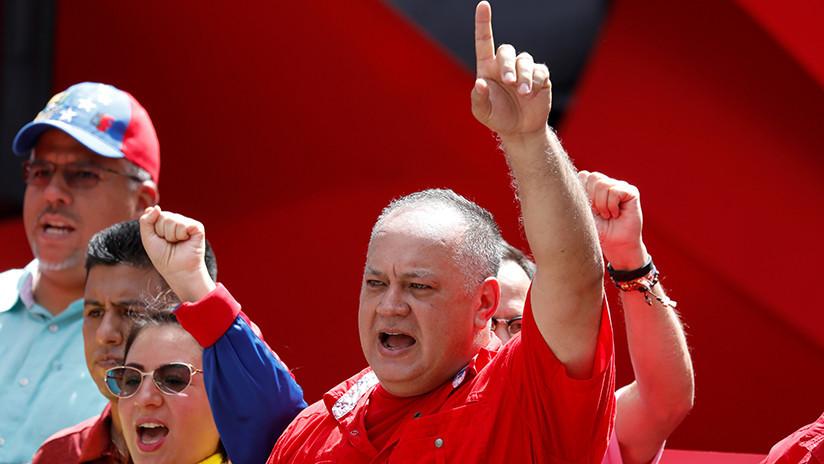 """Cabello responde a Pompeo: """"Aquí no está Hezbolá, está un pueblo dispuesto a defenderse"""""""
