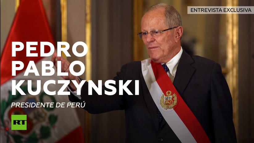 """Kuczynski a RT: """"Nos opondremos al muro de México"""""""