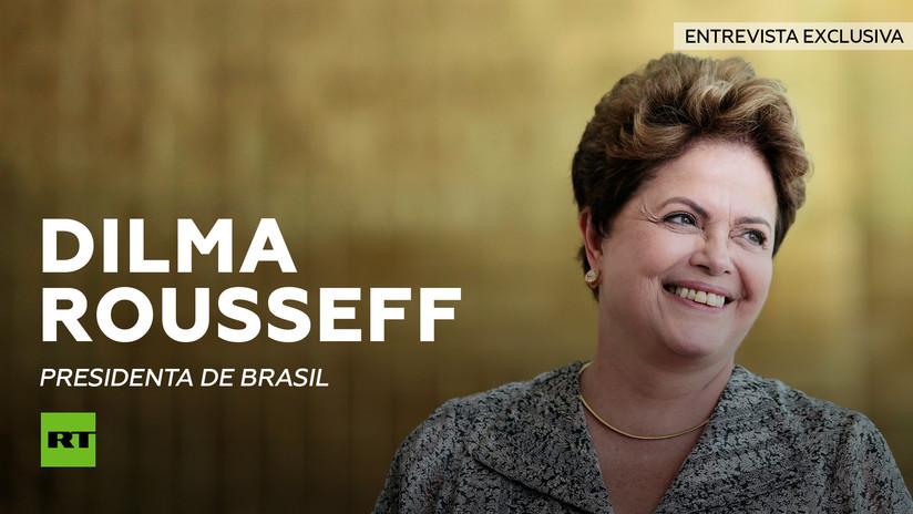 "EXCLUSIVA: Dilma Rousseff explica a RT ""el golpe sin armas"" que polariza Brasil (VERSIÓN COMPLETA)"
