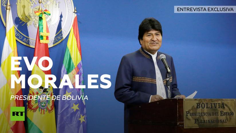 """Evo Morales: """"Combatir el cambio climático será posible cuando cambie el sistema capitalista"""""""