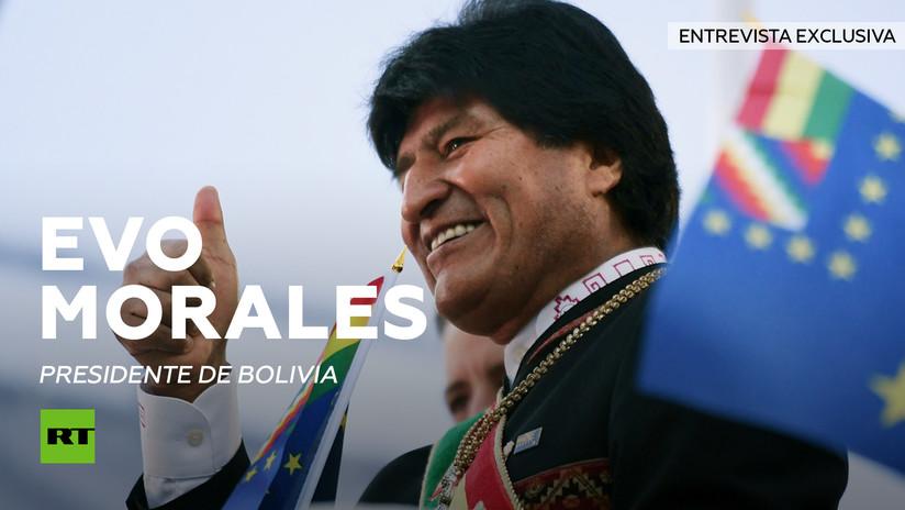 """Evo Morales a RT: """"EE.UU. trata de dividir y dominar a los gobiernos de América Latina"""""""