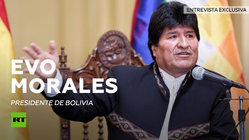 Entrevista exclusiva con Evo Morales (Versión completa)