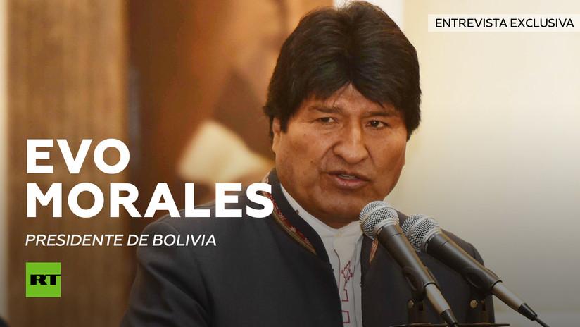 """Morales: """"Las sanciones económicas de EE.UU. a Rusia son auténtico terrorismo económico"""""""