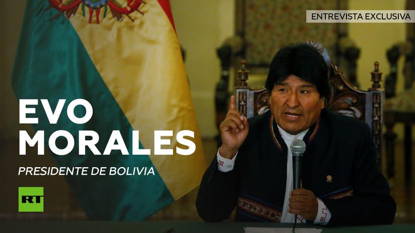 Entrevista con Evo Morales, presidente de Bolivia
