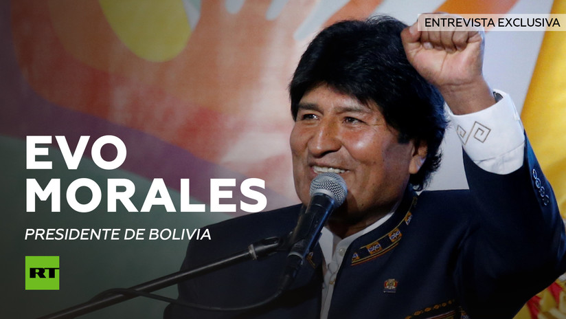 Entrevista exclusiva de Evo Morales a RT